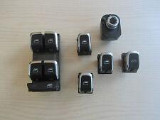 Audi A4 8K Crom Schalter Set Fensterheberschalter 8K0 959 851 F 8K0959851F