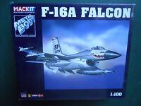 ARMOUR 1/100 MACKIT KIT METAL AVION F-16 A FALCON  MINT BOX
