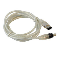 HQRP FireWire 4-6 Pin Cable for Sony VMC-IL4615 DCR-HC40 DCR-HC42 DCR-TRV11