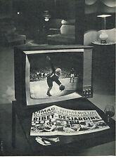 PUBLICITE ADVERTISING   1961   RIBET-DESJARDINS  téléviseur