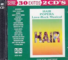 Hugo Jordan Hair Popera Love Rock Musical 30 Exitos 2CD No Plastic Seal