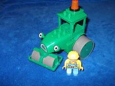 LEGO DUPLO ROLLO WALZE GRÜNE WALZE VON BOB DER BAUMEISTER + Bob aus 3295 3289