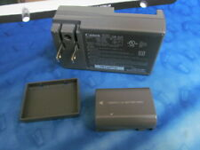 GENUINE CANON CB-2LT Battery Charger with Good Canon rechargeable battery NB-2L