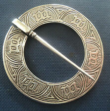 Stg. Silver Scottish Iona Marriage Brooch -  Alexander Ritchie h/m 1931 , 1939