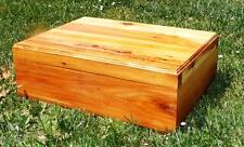 Pet Coffin Casket for Dogs or Cats 24 x 18 x 8 All Cedar