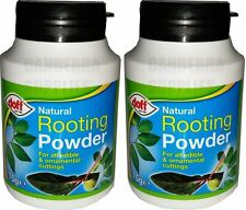 2 x DOFF NATURAL ROOTING POWDER FOR EDIBLE PLANTS & CUTTINGS 75G - DIPPING POT