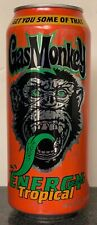 NEW GAS MONKEY TROPICAL ENERGY DRINK 16 FL OZ FULL CAN RACING NHRA FREE SHIPPING