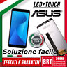 DISPLAY LCD+TOUCH SCREEN ORIGINALE ASUS ZENFONE MAX PLUS M1 ZB570TL X018D VETRO!