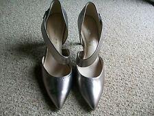 Autograph Metallic Leather Strap Court Shoes, Size 8 (Eur.42), M&S, BNWT