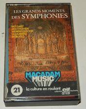 Cassette Audio Les grands moments des SYMPHONIES - MOZART.. Collection ELF ANTAR