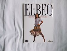 Vintage Elbeo lace top Stockings, colour White, size small