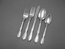 Rogers Cutlery Stainless VICTORIAN MANOR -CHARMAINE  5 Piece Place Set/Setting