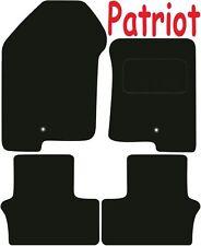 Calidad de lujo a medida Alfombrillas De Coche Jeep Patriot 2007-2011 ** negro **
