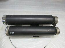 HARLEY DAVIDSON V-ROD VANCE AND HINES REAR SILENCERS    (15182)