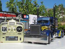 Tamiya 1/14 RC Grand Hauler Semi Truck + Futaba 2.4Ghz + MFC-01 LED & Sound Unit