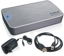 """3.5"""" Zoll Extern Festplattengehäuse CnMemory Mistral Silber USB 2.0 für SATA HDD"""