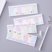 Random Cute Date Sticker Notes Bookmark Point Memo Tab Post Marker Sticky Flags