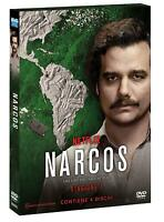 NARCOS - STAGIONE 1 (4 DVD) PRIMA SERIE TV NETFLIX