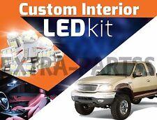 17pc Interior LED Light Bulbs Package Kit for 97-03 Ford F150 ¦ White