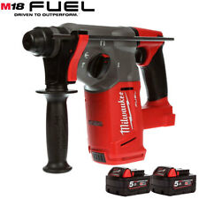 Milwaukee M18CHX-0 18V Fuel Brushless SDS+ Hammer Drill With 2 x 5.0Ah Batteries