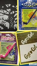GYRO-CUT & FABRI-CUT package DEAL!Rotary Cutter Paper Fabric Applique Decoupage