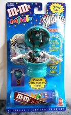 M&M's Minis Swarmees Techno Teal Playset - Mint on Card Sealed - 2000