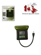 Outdoor 7-Day Heavy Duty Digital Plug-in Timer Woods 50015 50015WD  2 Grounded