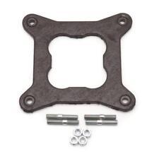 """Edelbrock Carburetor Flange Gasket 12410; .032"""" Fiber Open 4150 Square Bore"""