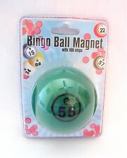 Bingo Chips Bingo Ball Magnetic Pick-up Storage System Green New