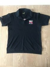 Black GTR NISMO Embroidered Polo Shirt T-Shirt Size Medium