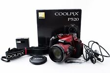 【Exc++++】 Nikon COOLPIX P520 18.1MP Digital Camera - Black From JAPAN Free Ship