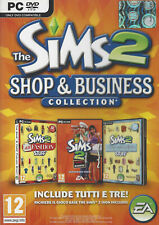 THE SIMS 2 - SHOP & BUSINESS COLLECTION (ITA) (EXPANSIONS PACK)