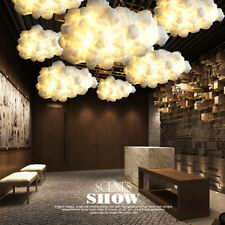LED Floating Cloud Ceiling Light Pendant Lamp Bedroom Chandelier Hotel Bar  э