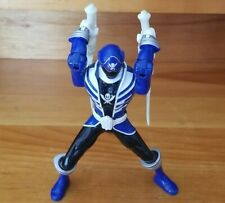 Power Rangers Super Megaforce Double Battle Action Blue Ranger Figure (2013)
