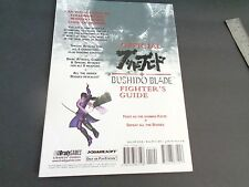 TEKKEN BUSHIDO BLADE BRADYGAMES FIGHTER'S OFFICIAL STRATEGY GAME GUIDE PS1