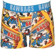 Bawbags Hero Fitted Boxer Shorts Medium Yellow