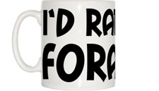 I'd Rather Be Foraging Mug