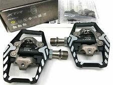 Exustar E-PR50 Single-Sided Clipless Road Lite Pedals w//Cleats fits Shimano SPD