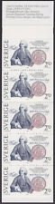 Sweden #1453a MNH intact booklet 1983 Treaty with USA Franklin cv $6.75