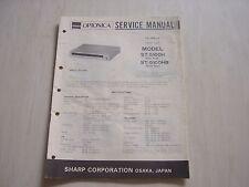 Original Sharp Optonica Service Manual fuer Tuner ST-5100H / HB fuer FM/MW/LW
