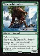 MTG Magic BFZ FOIL - Woodland Wanderer/Vagabond des sylves, French/VF