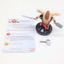 Heroclix Uncanny X-Men set Sugar Man (AoA) #064 Chase figure w/card!