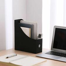 Plastic Sturdy Plastic File Folder Book Magazine Holder Document Paper