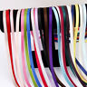 "Lot 24yds Double Face Satin Ribbon DIY Hair Bow Wedding Party Craft 1/4"" 6mm"