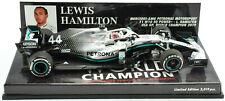 Minichamps Mercedes AMG - Lewis Hamilton - 2019 WC 1:43 Diecast F1 Car 417191844