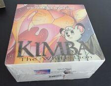 Kimba the White Lion Box Set 2 VHS 2000 7-Tape Set Dubbed English NEW Free Ship