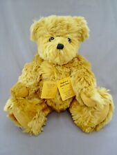 "No 8/16 LIMITED EDITION 16"" MOHAIR JOINTED TEDDY BEAR/GINGER BY JUNE KENDALL"