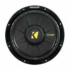 "KICKER CompD10 2x2Ohm  10"" 25cm Subwoofer Chassis /    Kicker Bass Subwoofer"