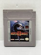 Mortal Kombat II 2 Authentic Nintendo Game Boy Cleaned, Tested, Working!