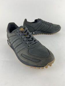 Adidas LA Trainer OG Gray Men's Size 9.5 Leather -Nice! Art # BZ0258